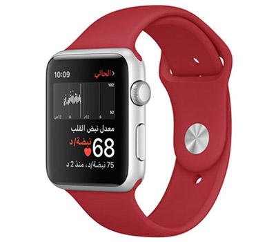 2107f7061 تساعدك Apple Watch دائماً على البقاء على دراية بصحتك العامة والتعامل مع  الضغوط اليومية بشكل أفضل والتحقق من معدل نبضات قلبك بطرق أوضح.