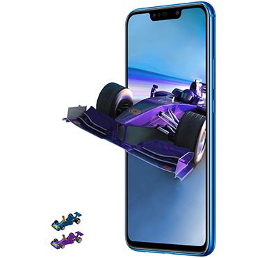 Huawei Nova 3i, 128GB, Purple - eXtra Saudi