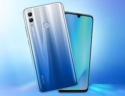Honor 10 Lite, 64GB, Sky Blue - eXtra Saudi