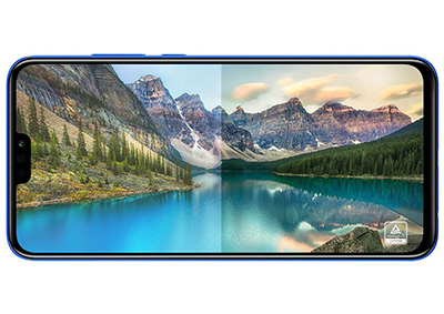 Honor 8 X, 128GB, Blue - eXtra Saudi