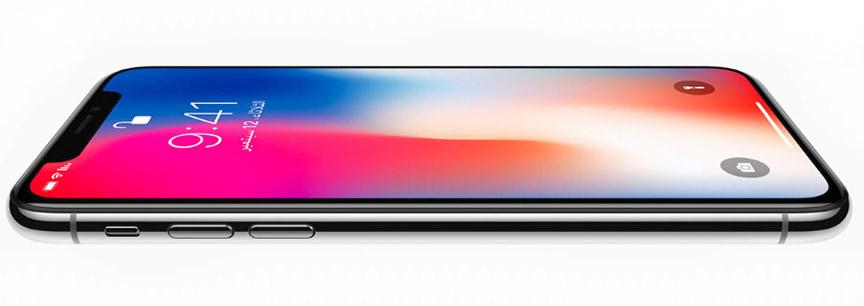 Apple iPhone X, 64GB, FaceTime, Silver - eXtra Saudi