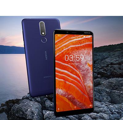 Nokia 3 1 Plus, 32GB, Black - eXtra Saudi