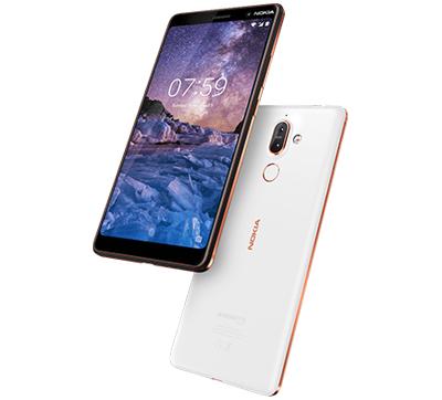 Nokia 7 Plus, 64GB, Black - eXtra Saudi