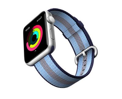c76a07c3d إليك ساعة Apple Watch Series 3 . معها، أصبح بإمكانك الآن البقاء نشطاً  ومتحفزاً ومتصلاً بالعالم بطرق أفضل من أي وقت سابق.