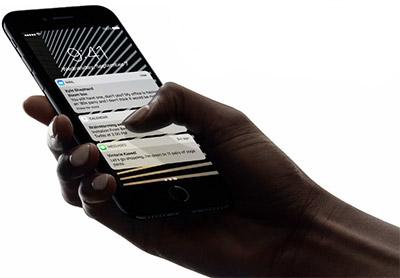 خاصية 3D Touch زيادة في الإفادة