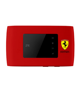 ZTE MF920VS Ferrari LTE 4G Mini Router Red