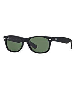 نظارة شمسية راي بان واي فارير للجنسين إطار مربع أسود