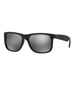 75c82f11b نظارة شمسية راي بان جستين للرجال إطار مربع أسود
