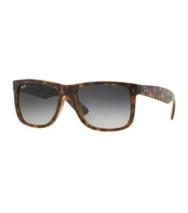 نظارة شمسية راي بان جستين للرجال إطار مربع بني