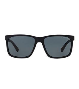 Armani Exchange Men Matte Blue Sunglasses