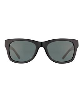 نظارة شمسية بيربيري للرجال إطار مربع لون أسود