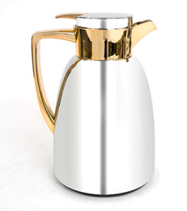 Sahara 1L Stainless Steel Vacuum Flask Gold Color