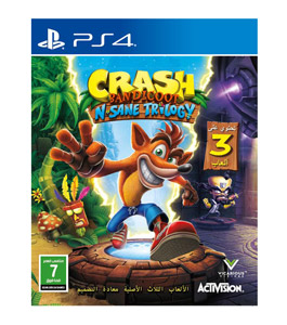 Crash Game Bandicoot N.Sane Trilogy Gcam for Playstation 4