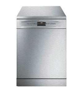 Smeg Dishwasher,13 Place Setting, 10 Programs, Stainless Steel Colo