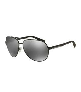 نظارة شمسية أرماني اكستشينج اطار أسود مطفي   مع عدسات ر