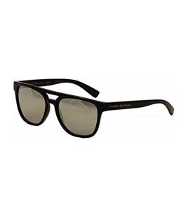نظارة شمسية أرماني اكستشينج بلاستيك إطار بني مطفي مع ع