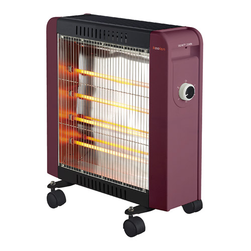 كولين دفاية 1600 واط 4 شمعات مستوي لدرجات الحرارة 2 مفتاح امان للحرارة
