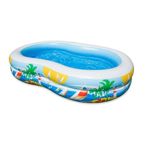 حوض سباحة مثالي جدا للأطفال للتغلب على حرارة الصيف