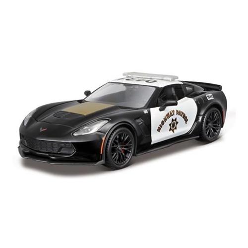 سيارة شرطة - شيفرولية كروفيت Z06 (32455) - 1:24