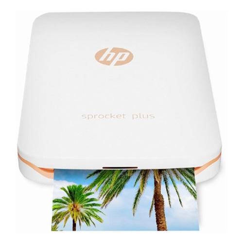 HP Sprocket Plus, Color Instant Mobile Printer, Bluetooth, White