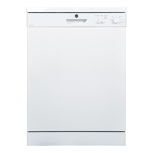 Hoover HDW1217, Dishwasher, 5 Programs, 12 Place Settings, White