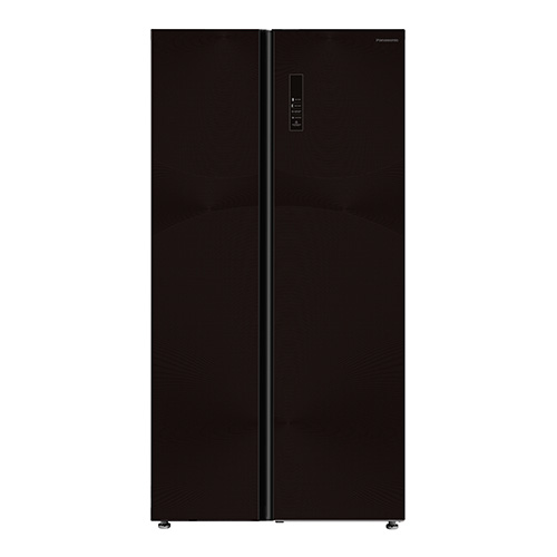 Panasonic Refregerator, 18.8 Cu.ft, Black Glass