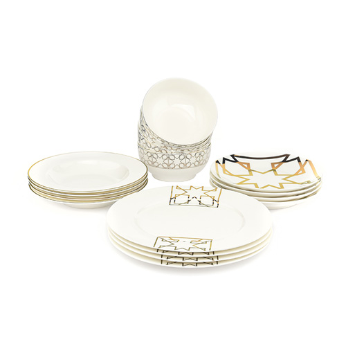 La Mesa Dinner Set Of 16pcs