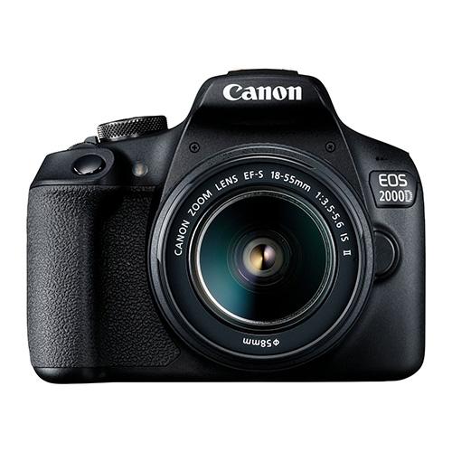 كانون كاميرا احترافيه 2000دي, 24ميجابيكسل, عدسه 18-55