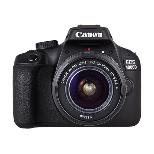 كانون كاميرا احترافيه 4000دي, 18ميجابيكسل, عدسه 18-55