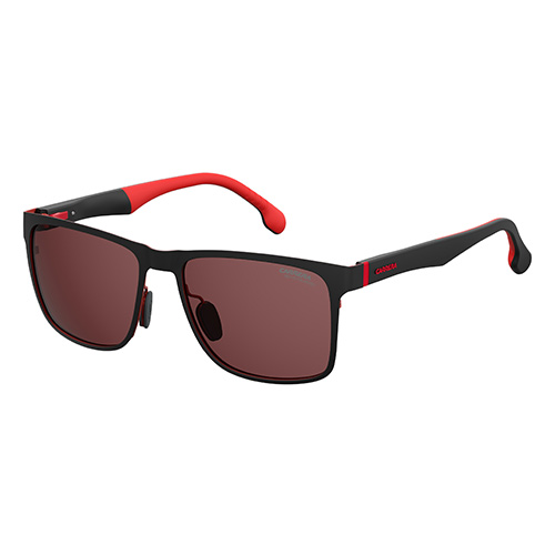 a6c645c75a Carrera Mens Matt Black red Sunglasses