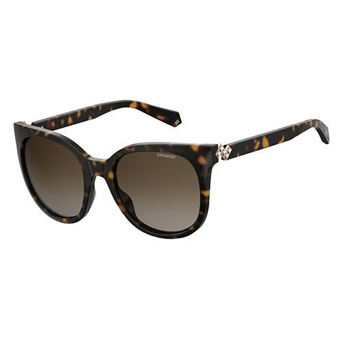 31da52b9aa Polariod Ladies Dark Havana Sunglasses