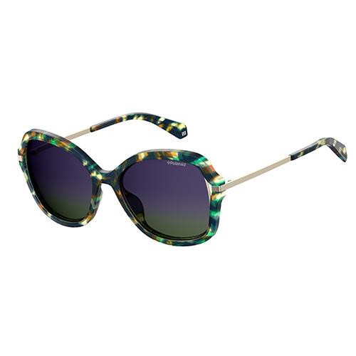 41b2c1ca13 Polariod Ladies Green Havana Sunglasses