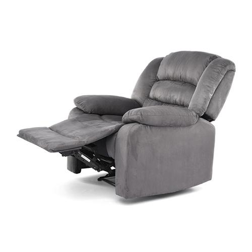 كرسي استرخاء مصنع من القماش يدوى  لون رمادى