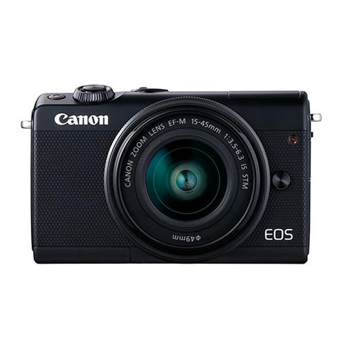 كانون إس تي إم كاميرا، 24 ميجا بكسل، واي فاي، أسود