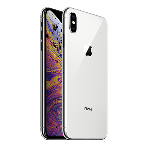 iPhone XS Max, 64GB, FaceTime, Silver