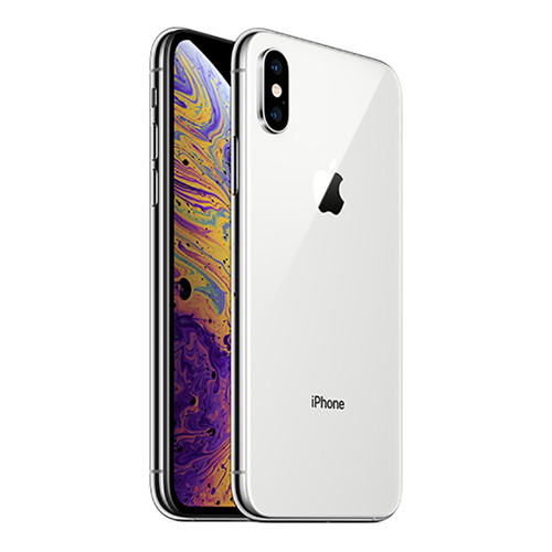iPhone XS, 256GB, FaceTime, Silver
