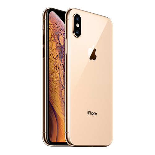 iPhone XS, 256GB, FaceTime, Gold