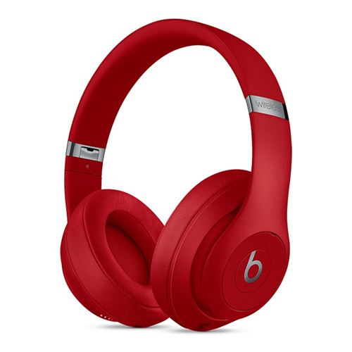Beats Studio 3 Wireless On-Ear Headphones - Brick Red