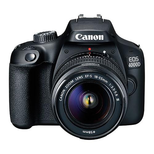 كانون كاميرا إحترافيه 4000 دي, 18 ميجا بيكسل, أسود