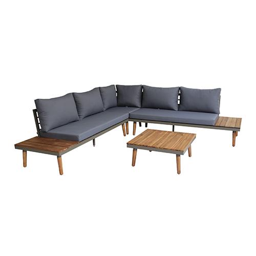 هومز جلسة خارجية  مؤلفة من 5 مقاعد مع طاولة