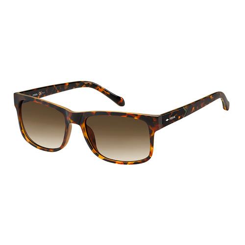 f9d3edb3e فوسيل نظارة شمسية رجالي، بني هافانا، عدسات بلاستيك بني