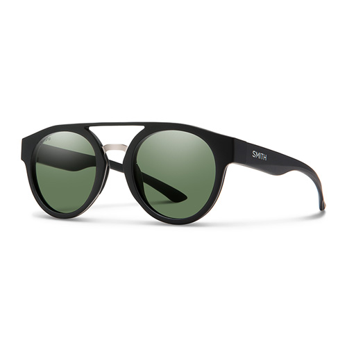 ca2752f660 Smith Ladies Matt Black Sunglasses With Plastic Green Pz Cp Lens