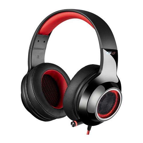 ايديفاير جي4 سماعات رأس سلكية للألعاب، أحمر
