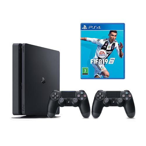 Sony PlayStation 4, 1TB, FIFA19, DS4 Bundle