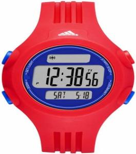 Adidas Sport Unisex Watch Red Plastic Strap
