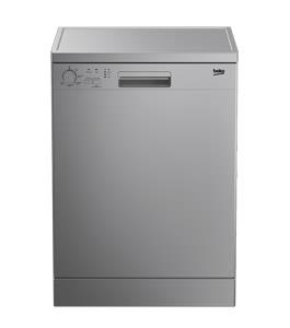Beko DFN05210S, Dishwasher, 5 Program, 12 Place Setting, Silver