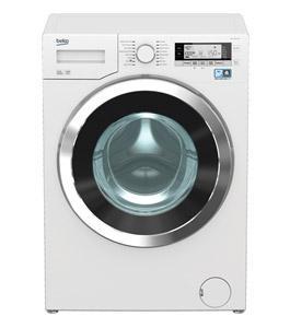 Beko Front load Auto Washer 10kg 18 Program, 1400rpm, White