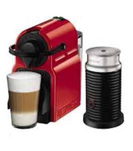 ماكينة نسبريسو صانعة قهوة إنيسيا أحمر